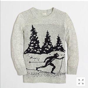 J Crew Intarsia Skiier Sweater